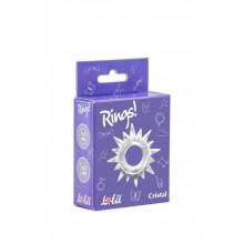 Эрекционное кольцо Rings Cristal (Белый)