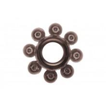 Эрекционное кольцо Rings Bubbles (Черный)