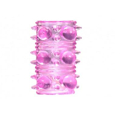 Насадка на пенис Rings Armour (Розовый)