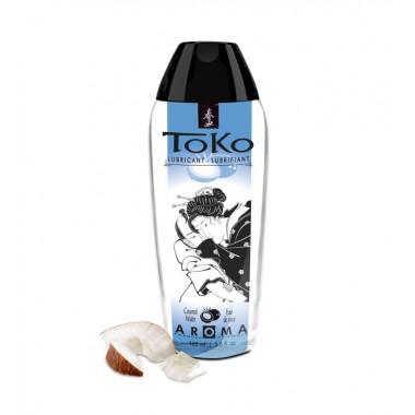 """Вкусовой, ароматический лубрикант SHUNGA TOKO """"Кокосовая вода"""", 165 мл"""