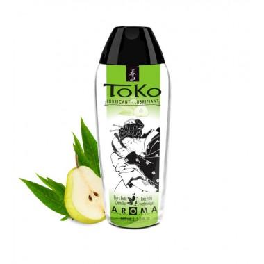 """Вкусовой, ароматический лубрикант SHUNGA TOKO """"Экзотический зеленый чай и груша"""", 165 мл"""