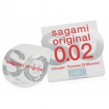 Презервативы SAGAMI Original 002 полиуретановые 1шт.