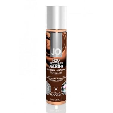 Вкусовой лубрикант на водной основе, Шоколад JO Flavored, 30 мл
