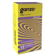 Презервативы Ganzo Тонкие №12