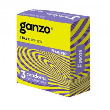 Презервативы Ganzo Тонкие №3
