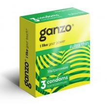 Презервативы Ganzo Ультратонкие №3