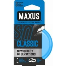 "Презервативы ""MAXUS"" CLASSIC №3 (классические)"