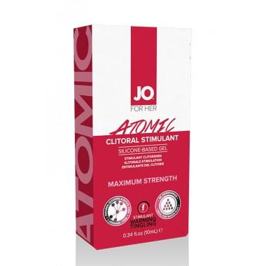 Возбуждающий гель для клитора мощного действия JO Atomic, 10 мл