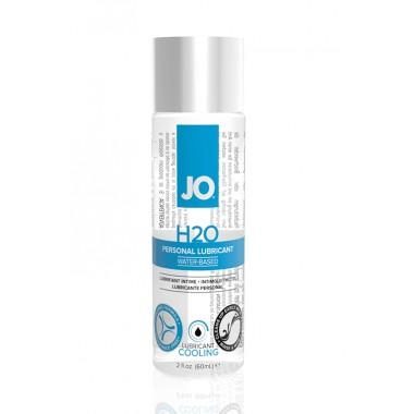 Класический охлаждающий лубрикант на водной основе JO H2O COOL, 60мл