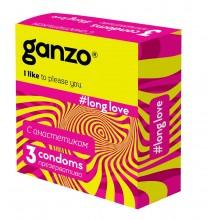 Презервативы Ganzo Продлевающие №3