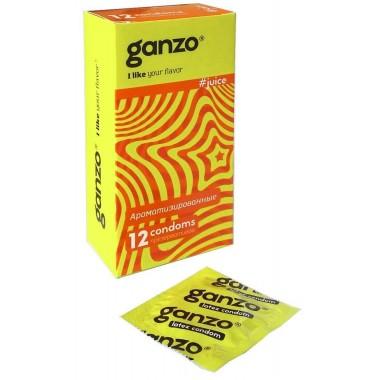 Презервативы Ganzo Ароматизированные №12