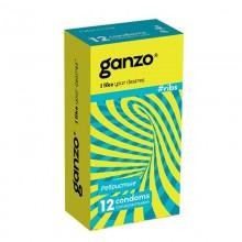 Презервативы Ganzo Ребристые №12