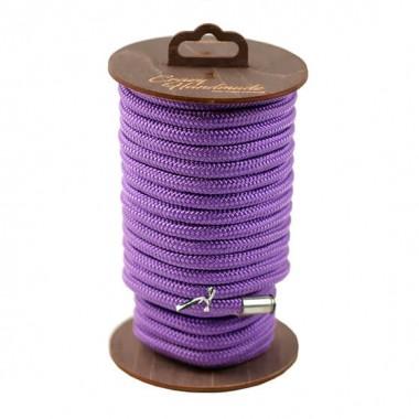 Нейлоновая веревка для шибари 10 м, фиолетовый