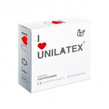 """Презервативы UNILATEX """"ULTRA THIN"""" ультратонкие, 3 шт"""