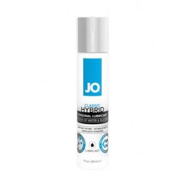 Лубрикант-гибрид водно-силиконовый JO Lubricant (Hybrid), 30 мл.
