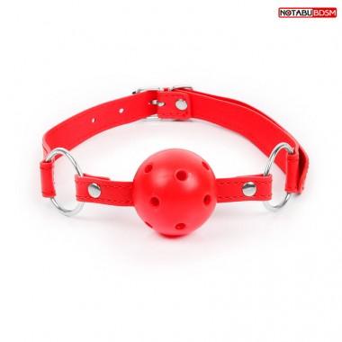 Кляп L 620 мм, D 45 мм, цвет красный