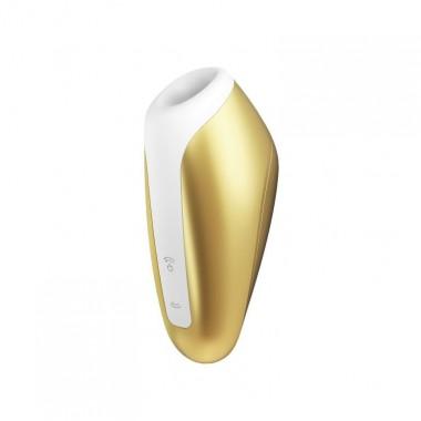 Вакуумно-волновой стимулятор Love Breeze, золотой