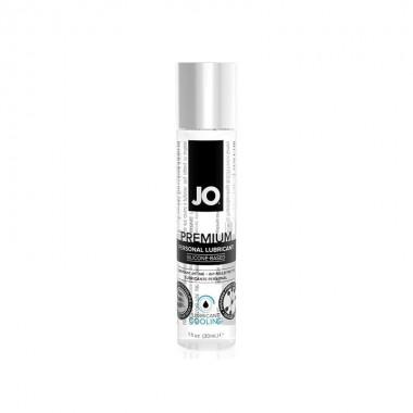 Классический охлаждающий лубрикант на силиконовой основе JO Premium Cooling, 30 мл