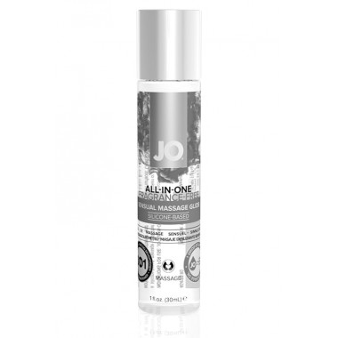 Массажный гель-лубрикант All-In-One Massage Glide Fragrance Free без запаха, 30 мл
