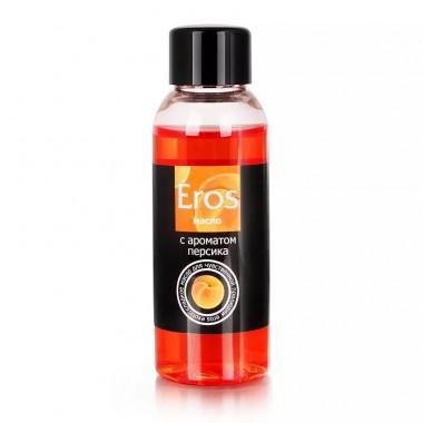Вкусовое массажное масло EROS EXOTIC (персик), 50 мл