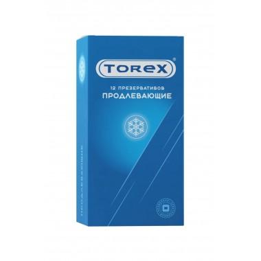 Презервативы Torex Продлевающие с бензокаином, 12 шт