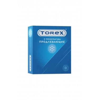 Презервативы Torex Продлевающие, 3 шт