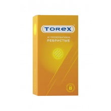 Презервативы Torex Ребристые, 12 шт