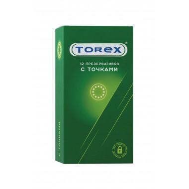 Презервативы Torex С точками, 12 шт