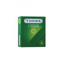 Презервативы Torex с точками, 3 шт