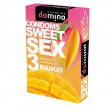 ПРЕЗЕРВАТИВЫ DOMINO SWEET SEX MANGO 3 штуки (оральные)