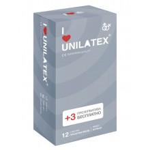 "Презервативы UNILATEX ""RIBBED"" с рифленой поверхностью, 12 шт."