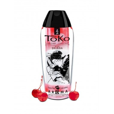 "Вкусовой, ароматический лубрикант SHUNGA TOKO ""Вишня"", 165 мл"