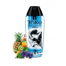 """Вкусовой, ароматический лубрикант SHUNGA TOKO """"Экзотические фрукты"""", 165 мл"""