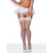 Julitta stocking (Белый S/M)