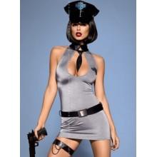 Police dress (Серый S/M)