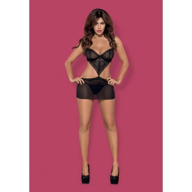Picantina chemise & thong (S/M)